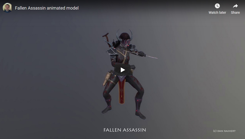 Characters animations