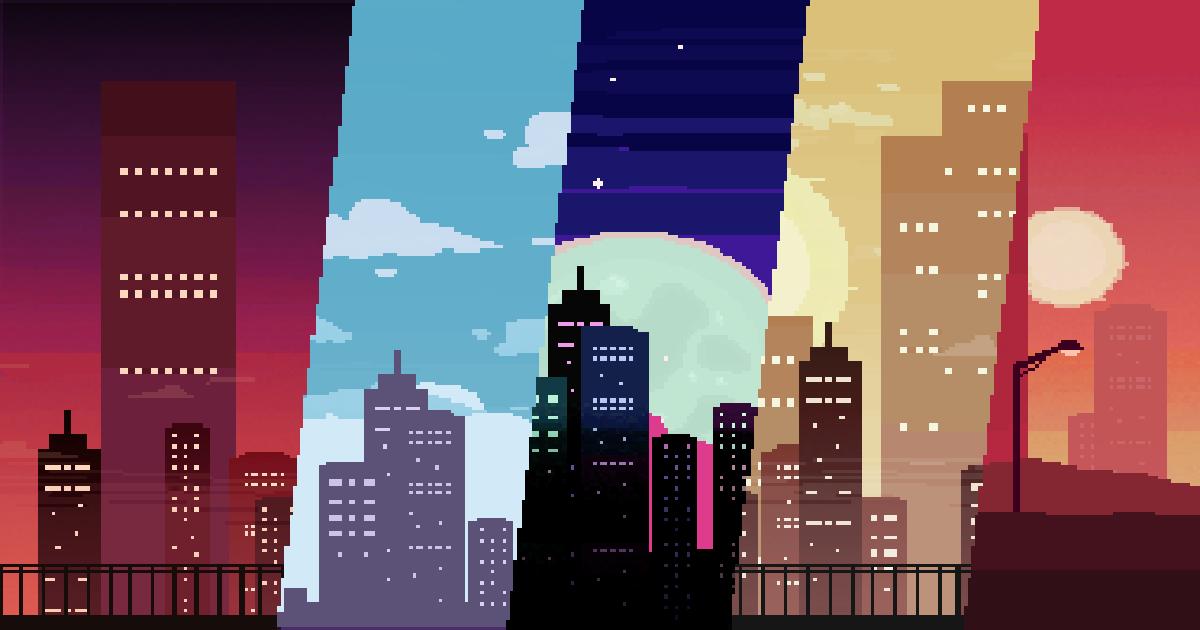 2D City Backgrounds