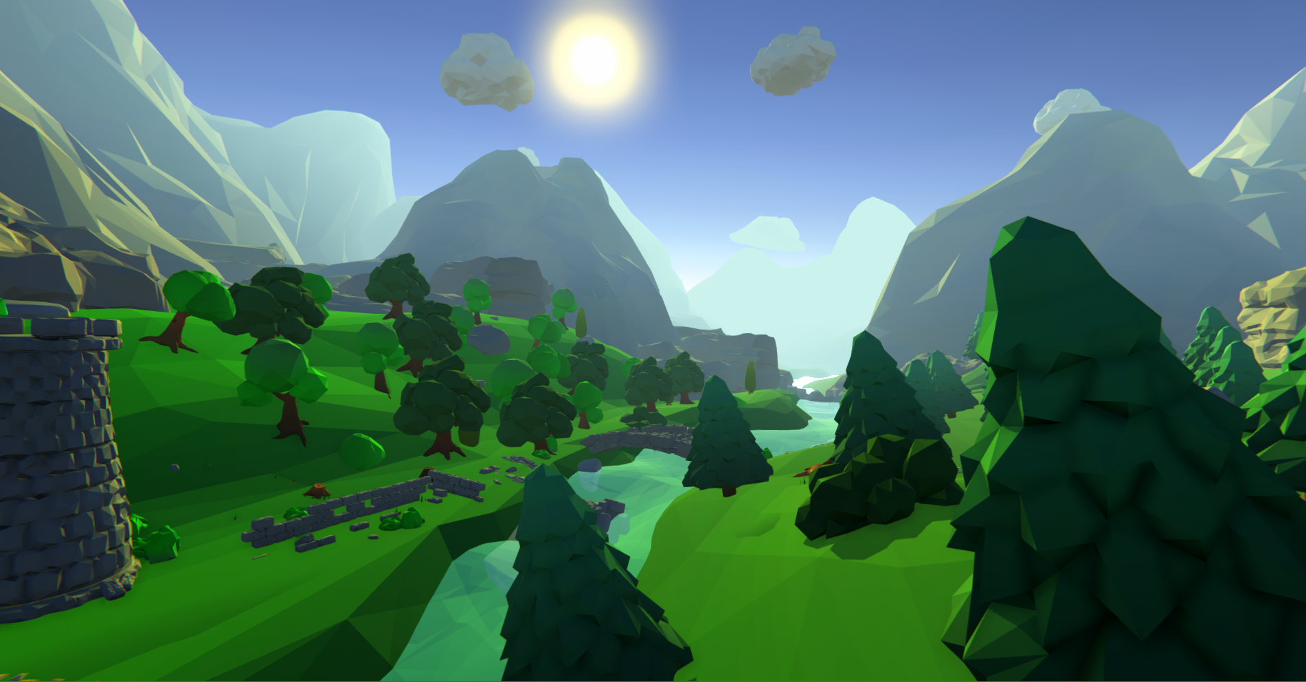 Low Poly nature pack (cartoon)