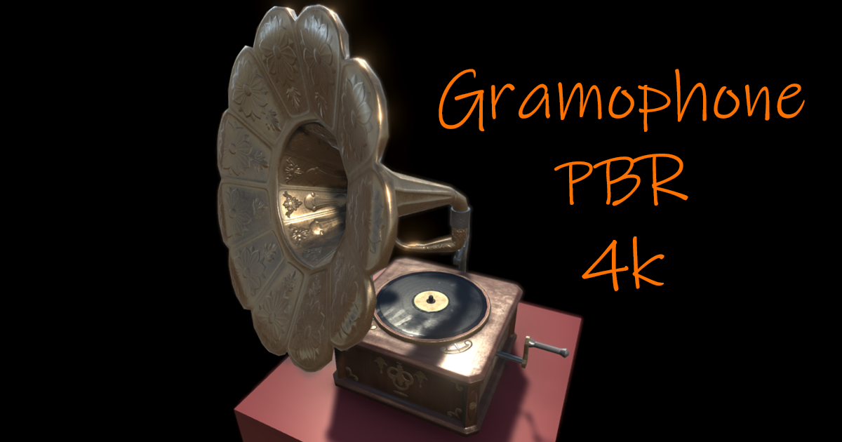 Gramophone model