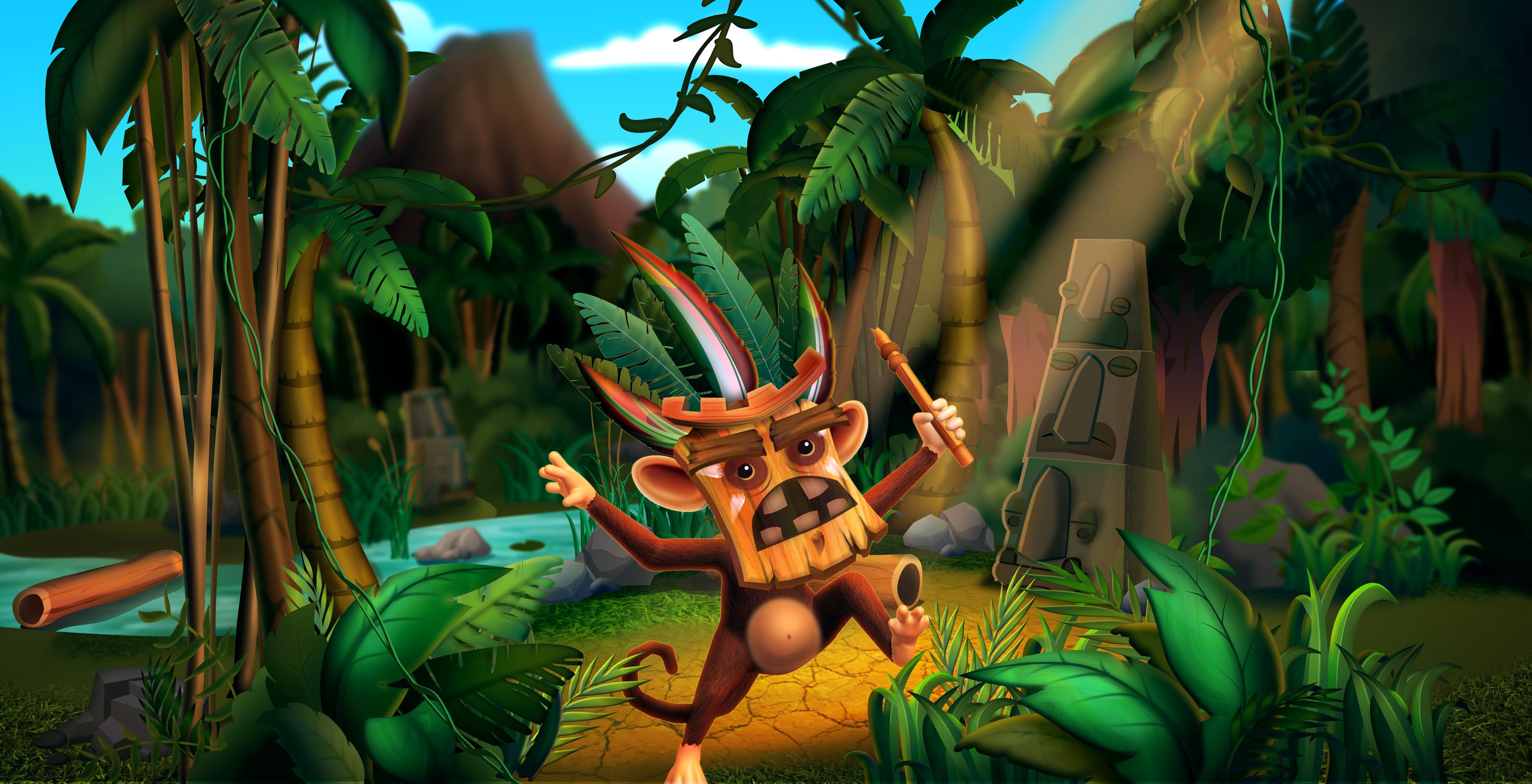 Game Art Wallpaper - Jungle