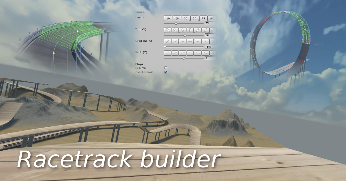 Racetrack Builder