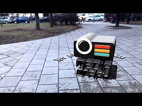 AR Dynamic Object Placement