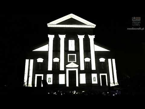 3D Projection Mapping on a Church
