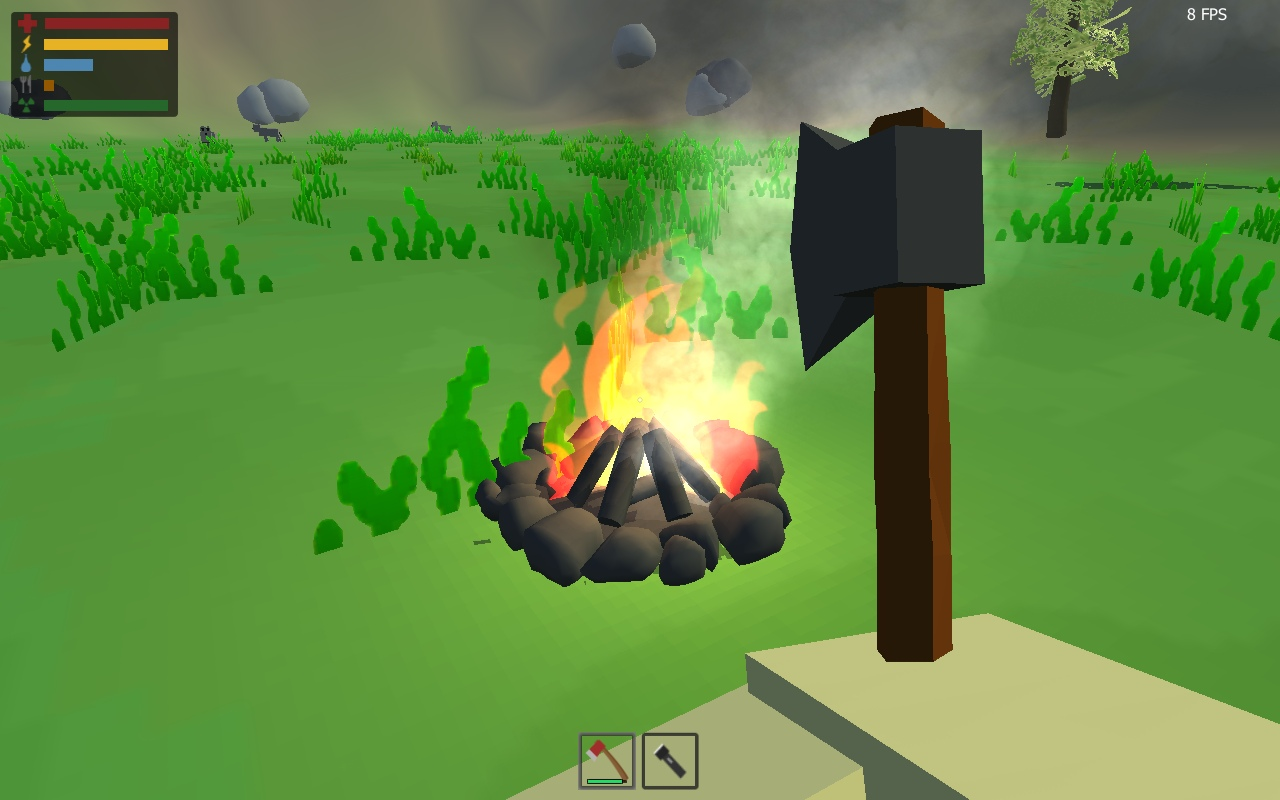My a little clone Unturned, ResistUnt
