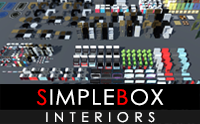 SimpleBox Interiors for indie game developers