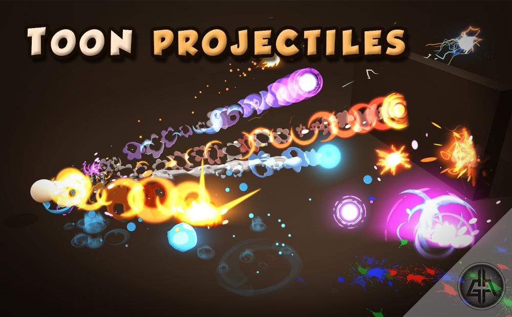 Toon Projectiles Vol.1
