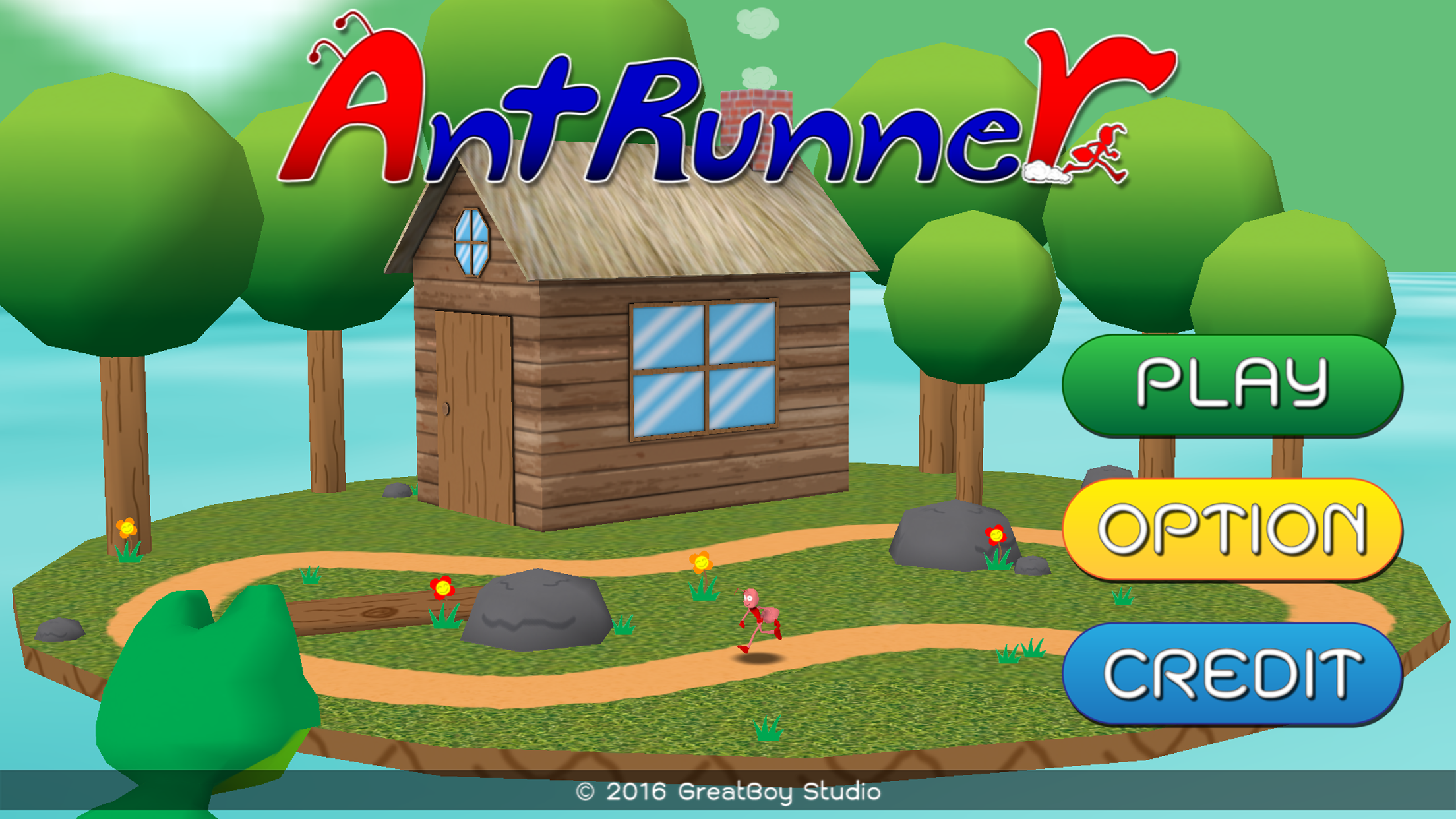 Ant Runner Run!