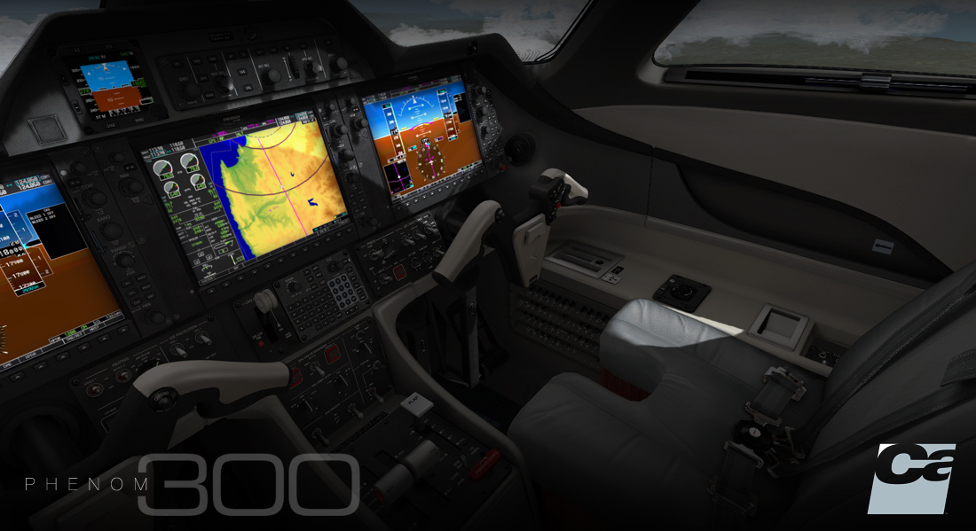 Phenom 300 Programming and development of 2D and 3D
