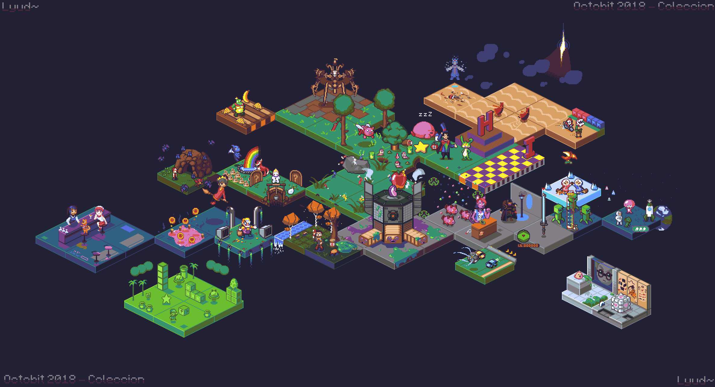 Octobit 2018 - Isometric View
