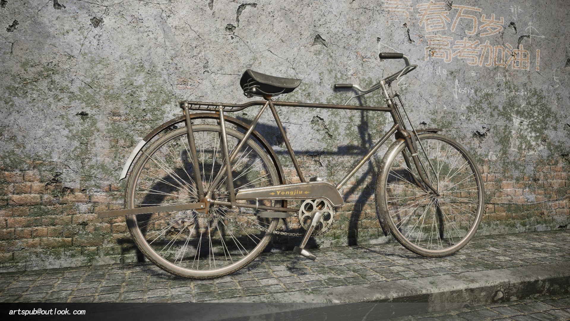 HD Render Pipline 上海永久牌自行车