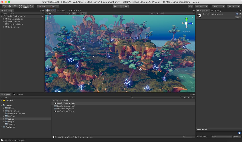 Unity2018.3全新Prefab预制件系统深入介绍
