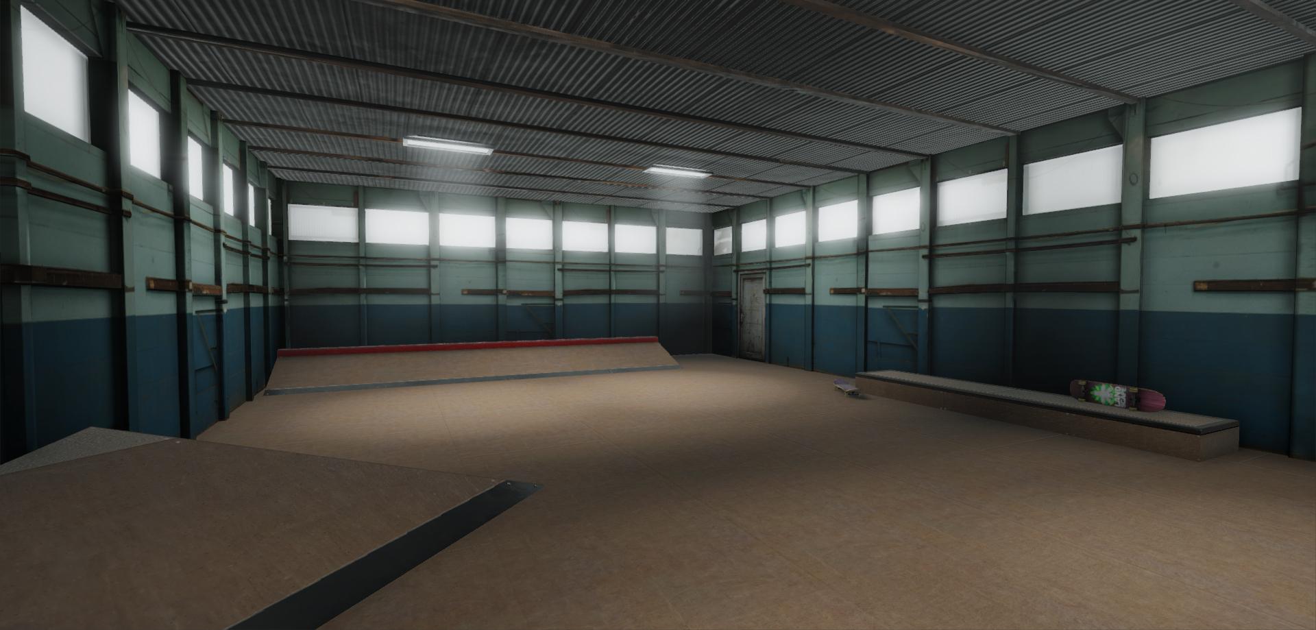 Moseley's Skatepark VR Demo