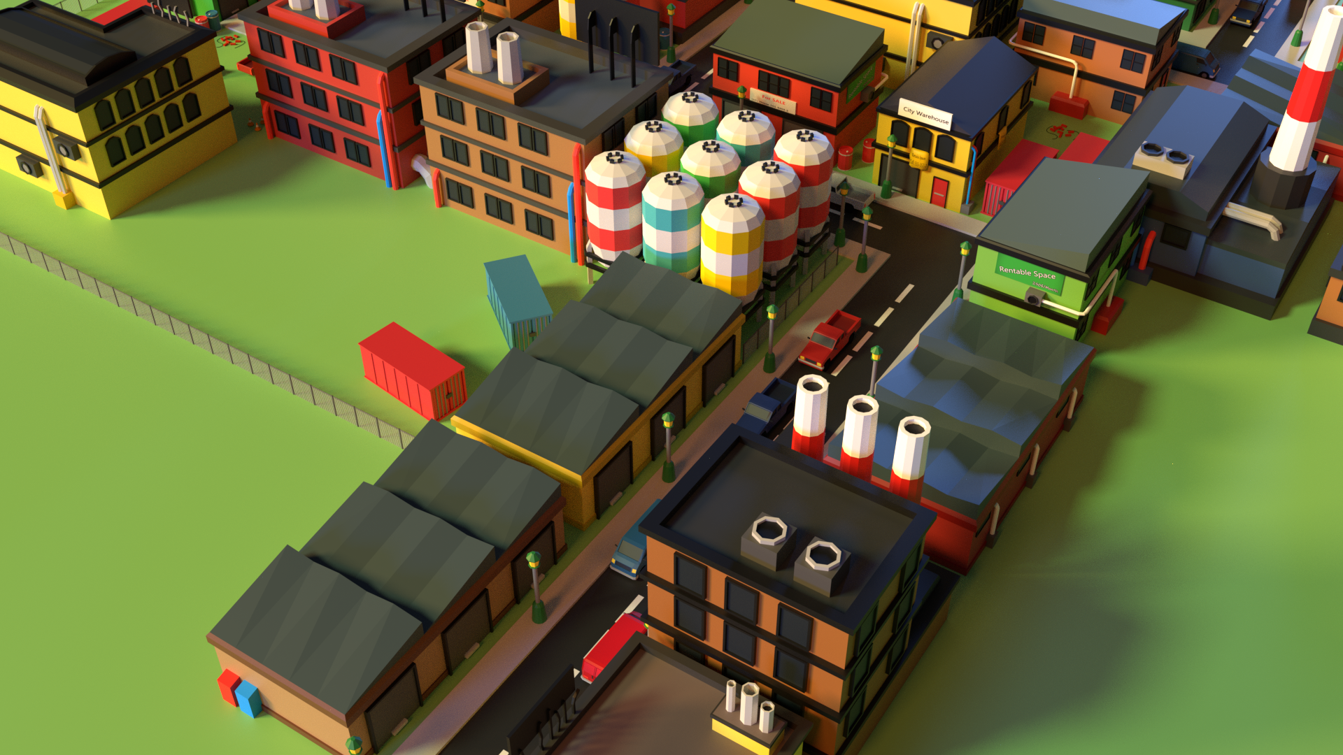 Simple Industrial District 2