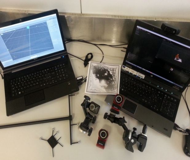 Mobile tracking system and optical tracking integration for mobile mixed reality