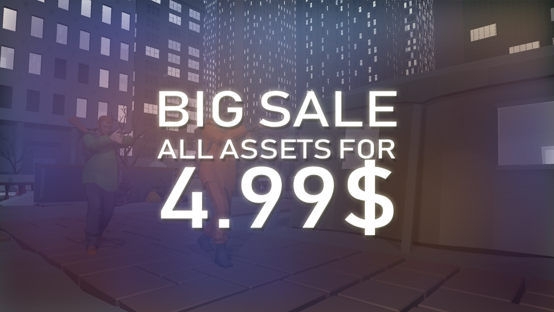 SALE! All assets for $4.99