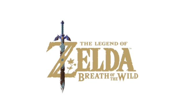 Legend of Zelda logo animation
