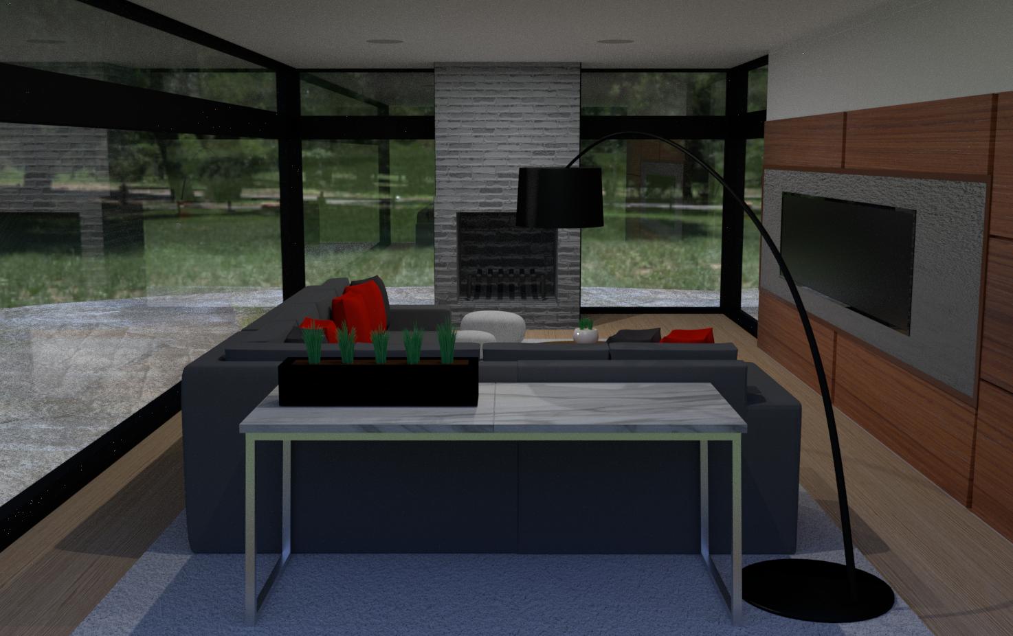 HiRes Living Room Demo