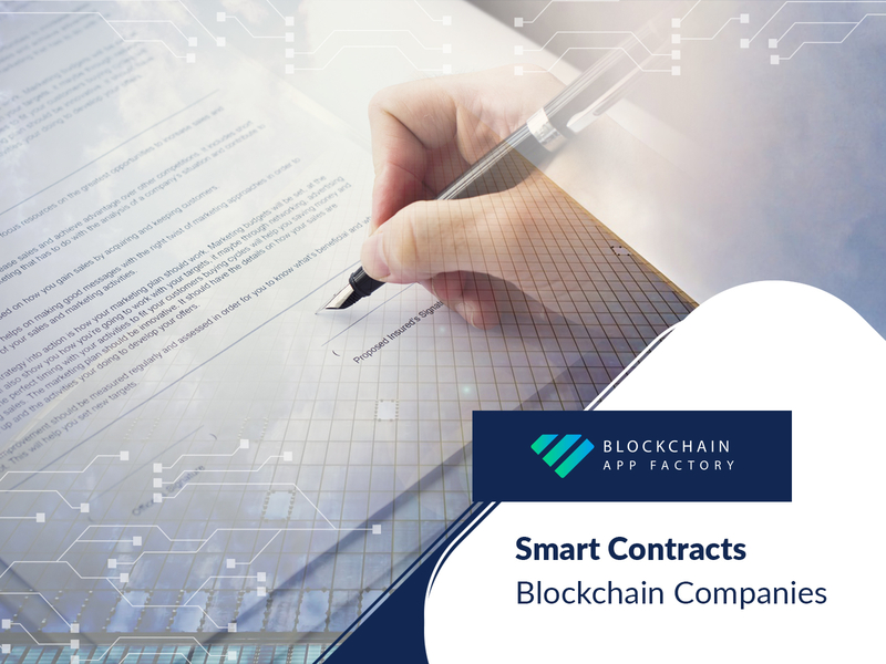 The Many advantages of the Smart Contracts