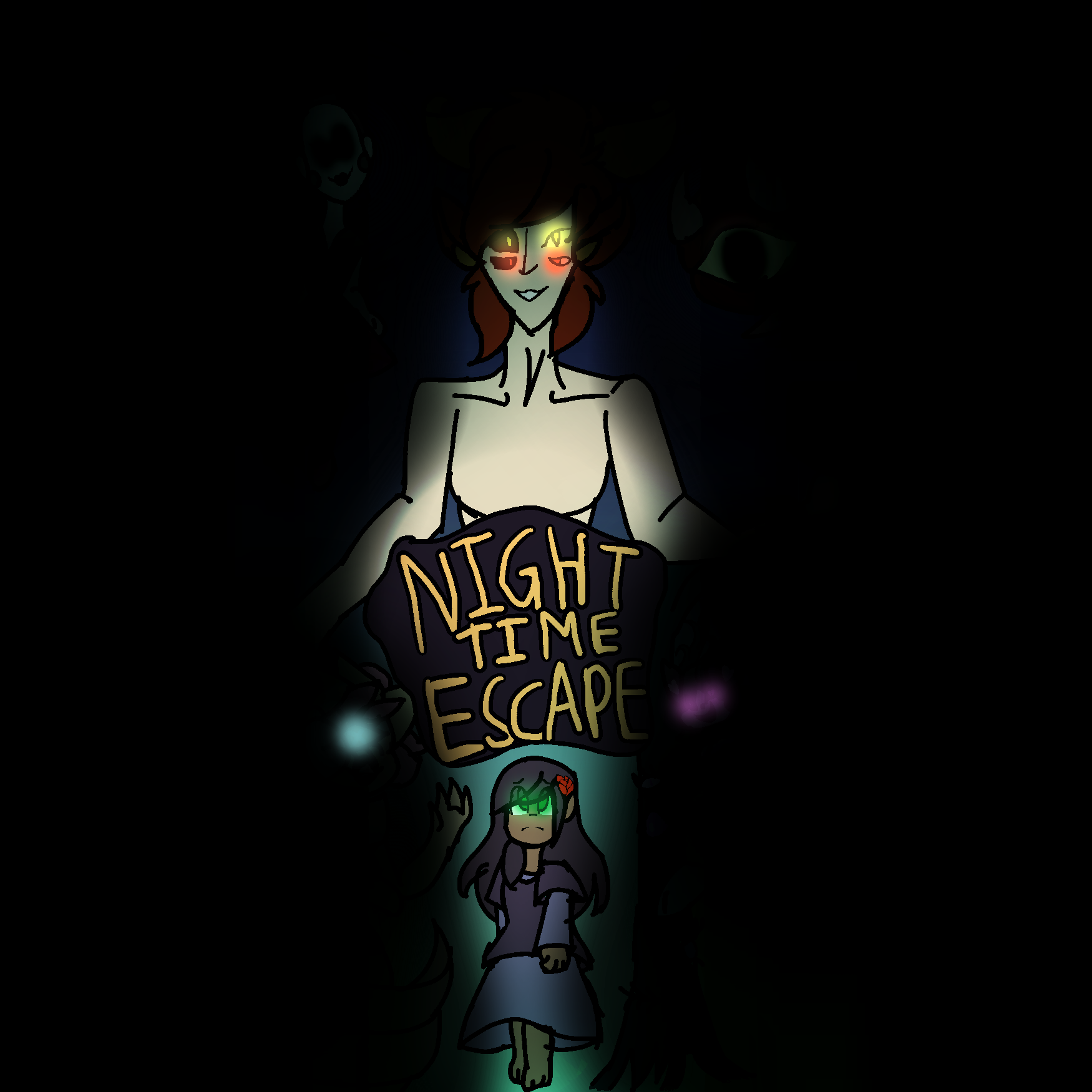 NightTimeEscape Main Menu