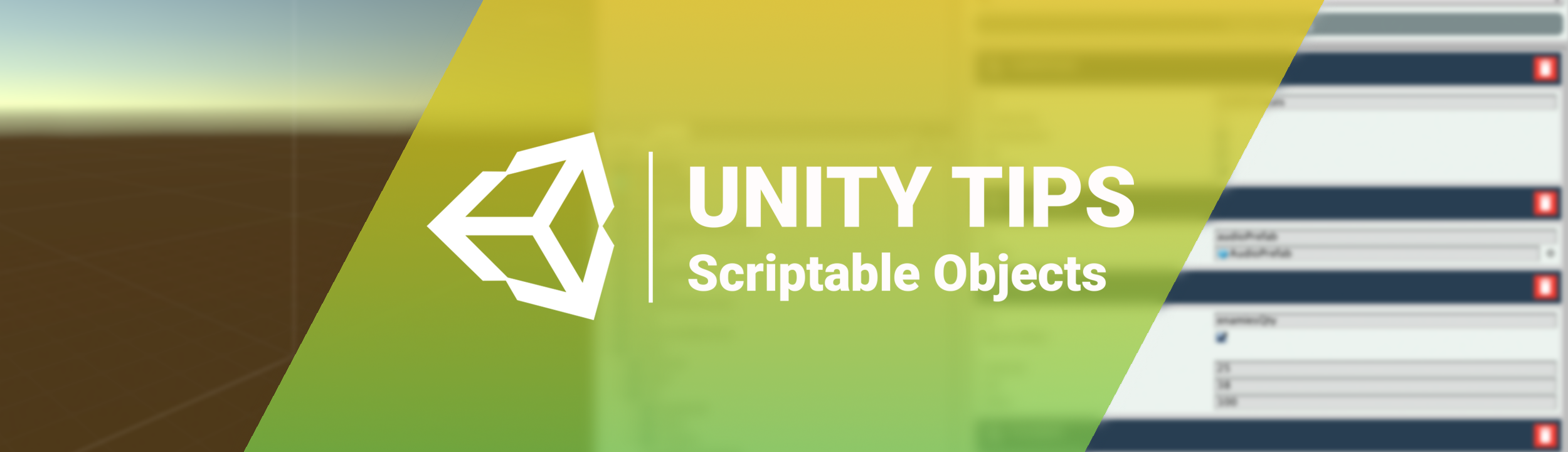 Unity Tips: Scriptable Objects