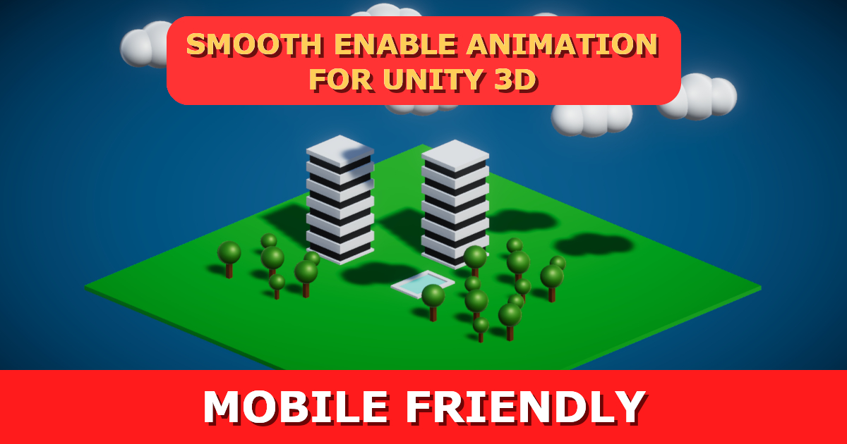 Smooth Enable Animation (Mobile Friendly)