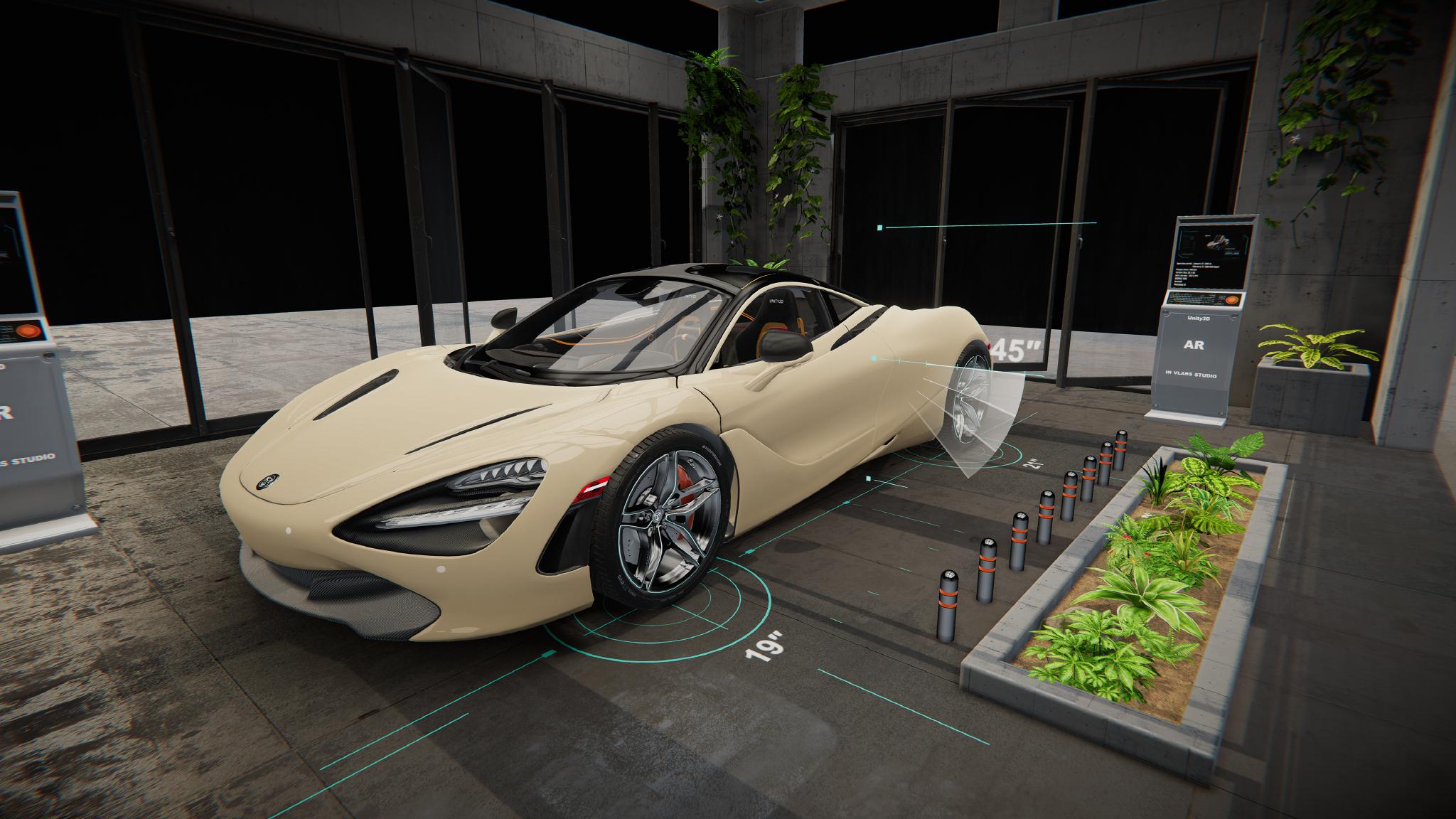 2019 Mclaren 720S AR Unity3D Work