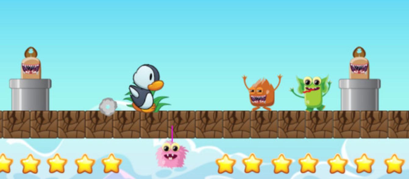 Peguin Adventure- Complete Game Kit