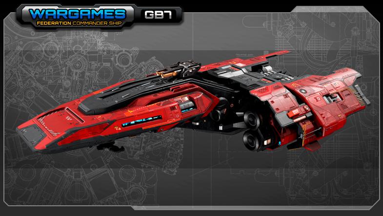 SF Federation Commander Ship GB7