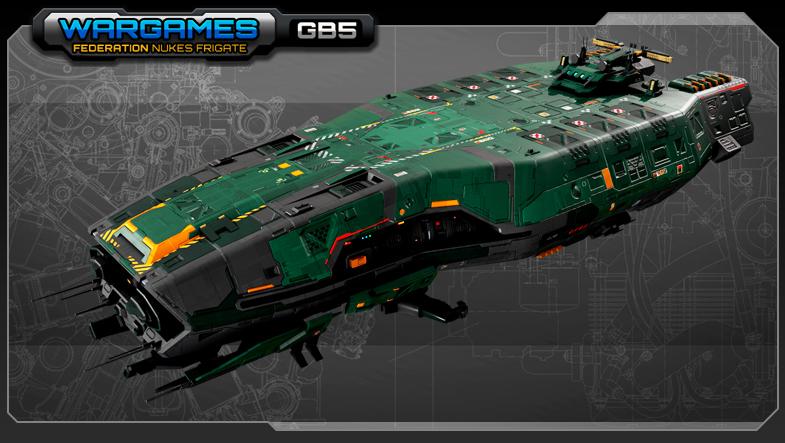 SF Federation Nukes Frigate GB5