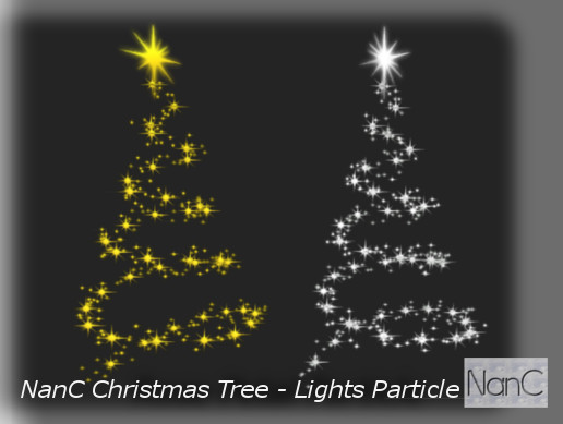 Christmas Tree - Lights Particle