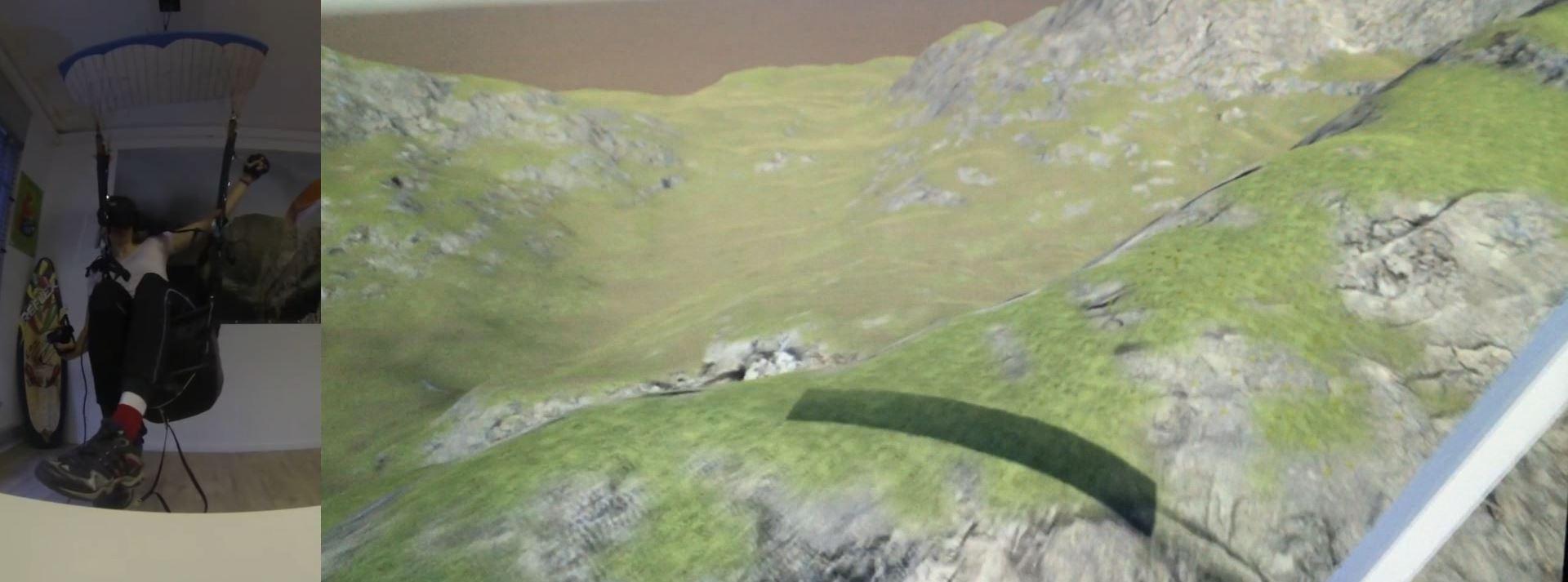 VR Paragliding Simulator