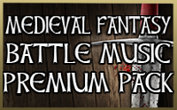 Medieval Fantasy Battle Music Premium Pack