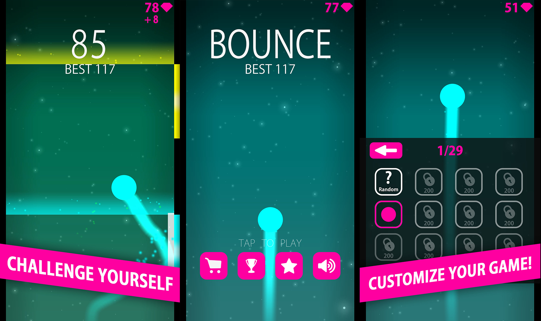 Bounce - Don´t tap too late!