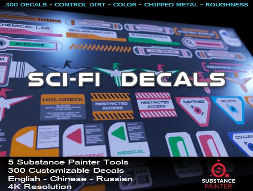 Sci-Fi Decals I