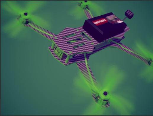 fpv acrobatic  quadcopter / drone
