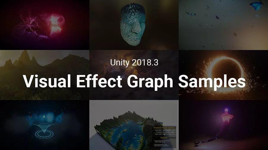 Visual Effect Graph示例项目