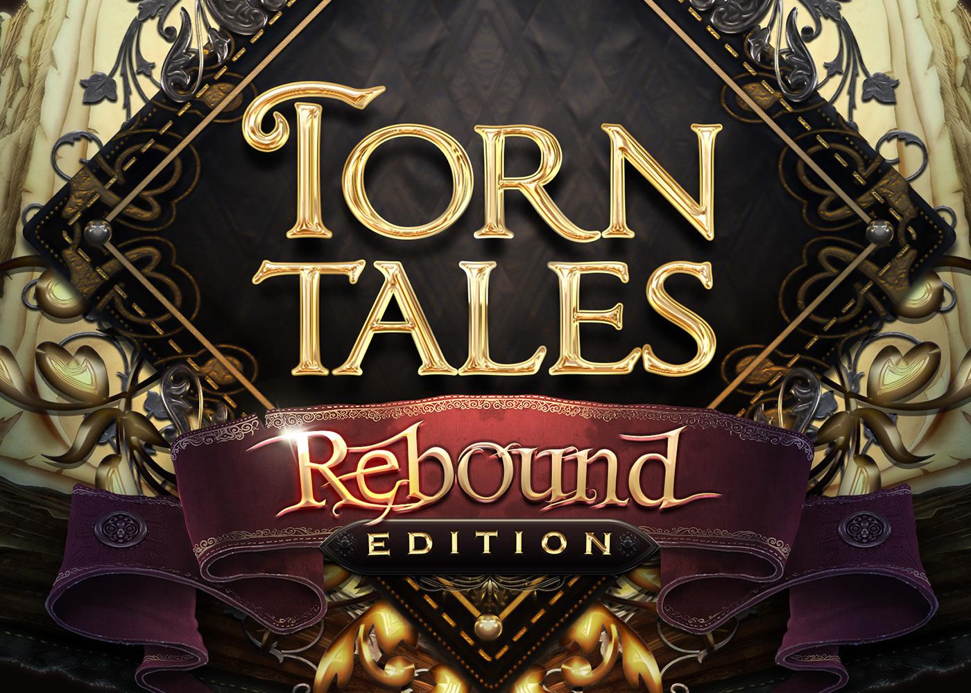 Torn Tales   UI & Logo Designs
