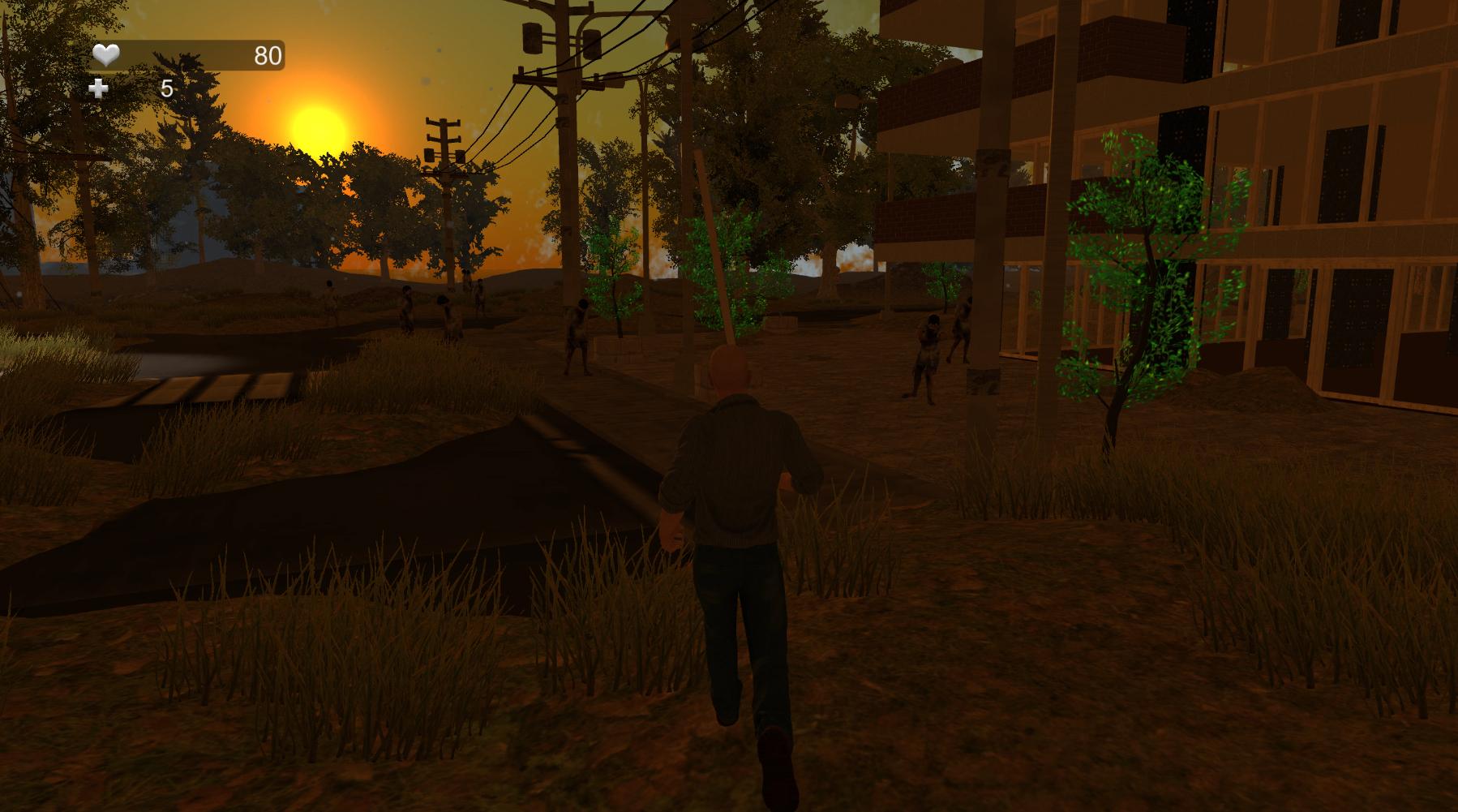 Caught Between Zombies - Survival Horror Demo