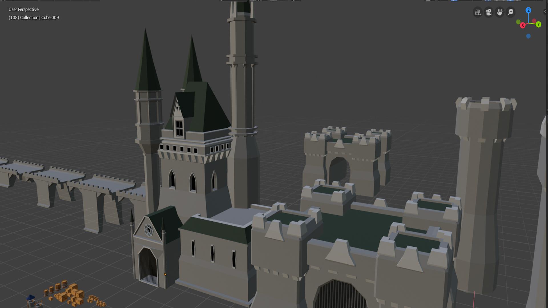 Castle asset pack