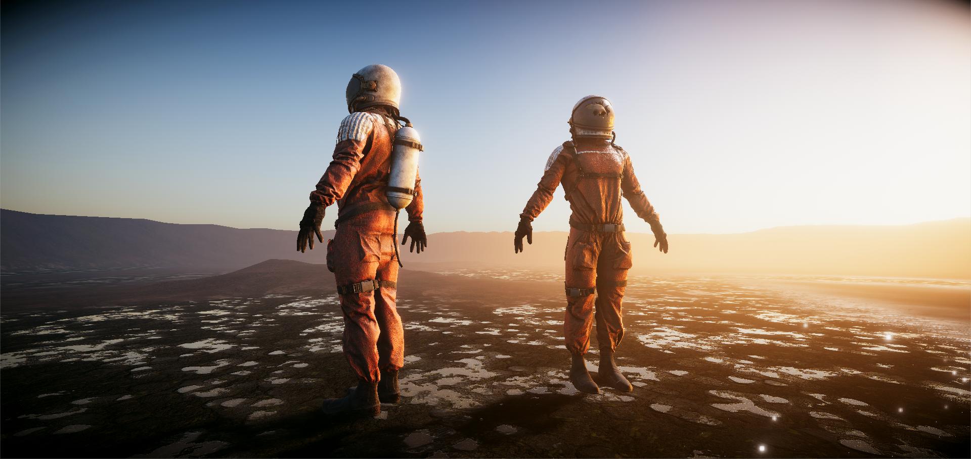 Lost Cosmonauts - Unity 5 HDRP