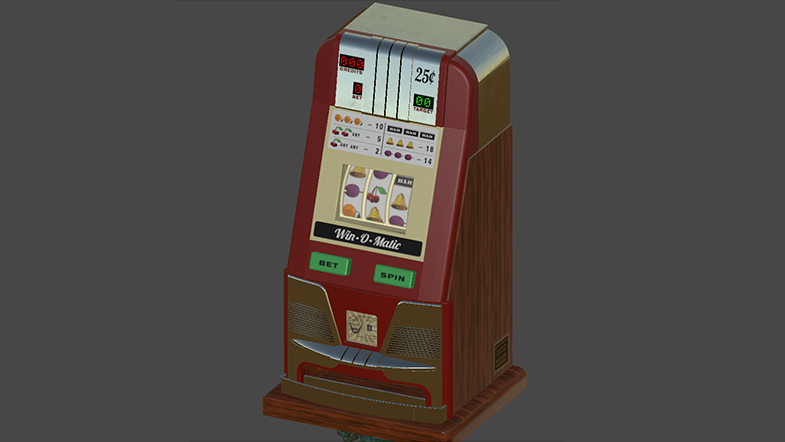 Functional Retro Slot Machine