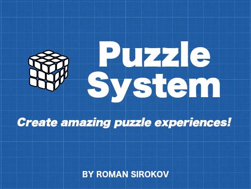 Unity Asset: PuzzleSystem