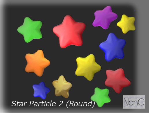 Star Particle 2 (Round)