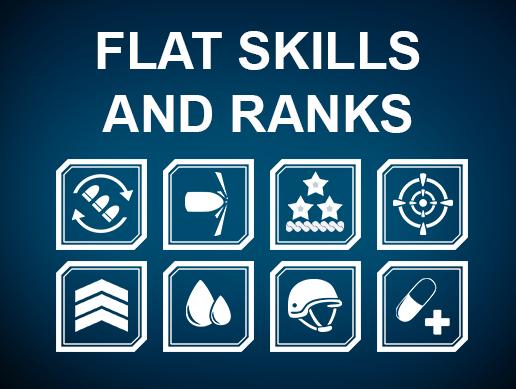Flat SKILLS and RANKS