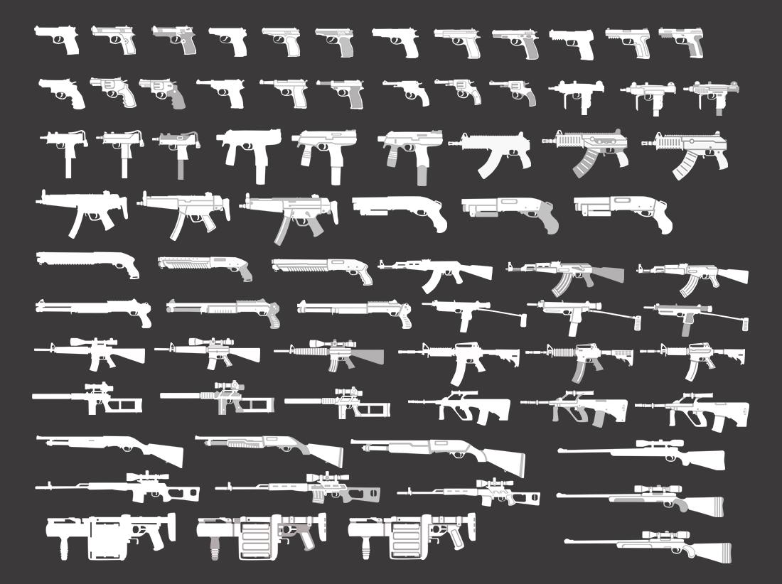 Upcoming GUN pack