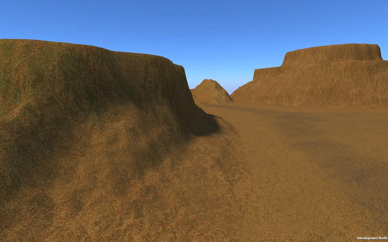 Simple desert level