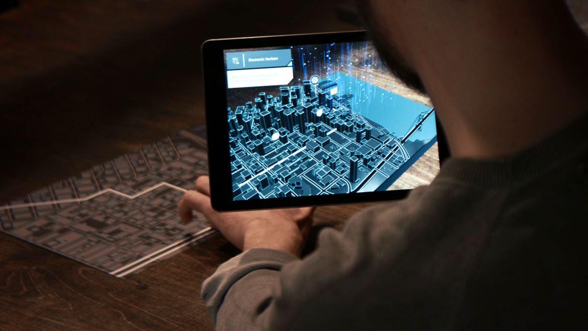 HERE AR City App