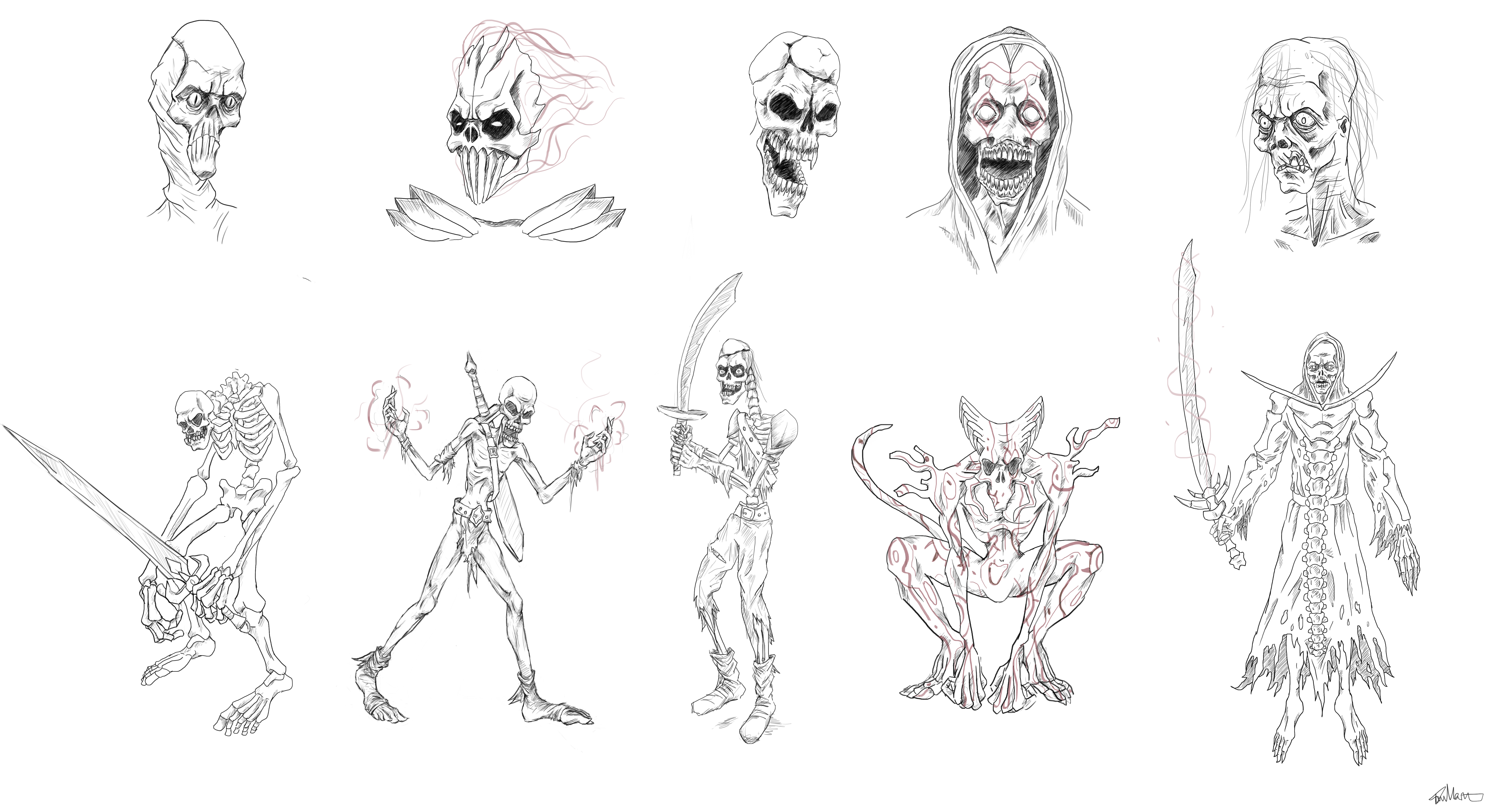 Skeleton Concept Designs