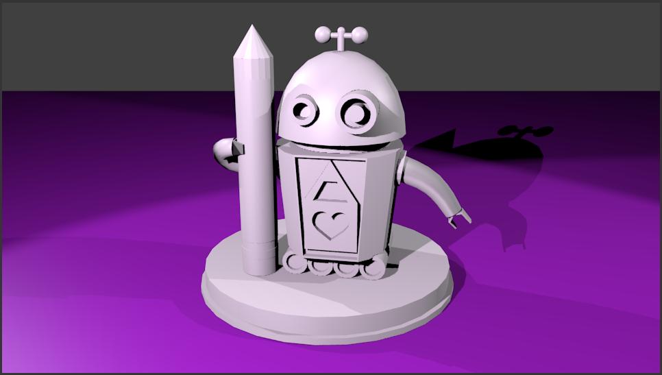Robot and Pencil Reward